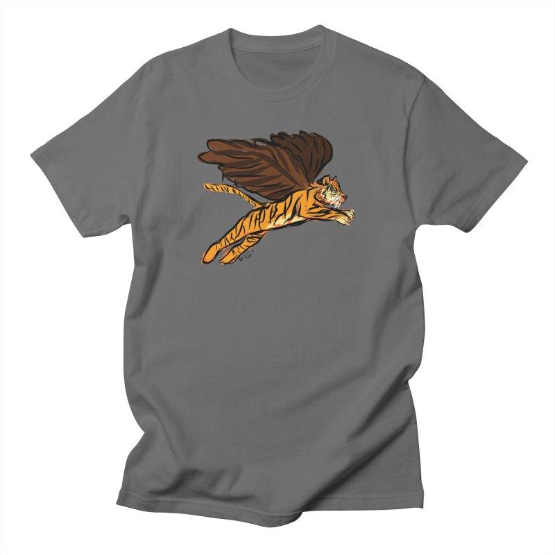 Roar & Soar! Men's T-Shirt by ACEMETRICAL ( / ) Disc Golf