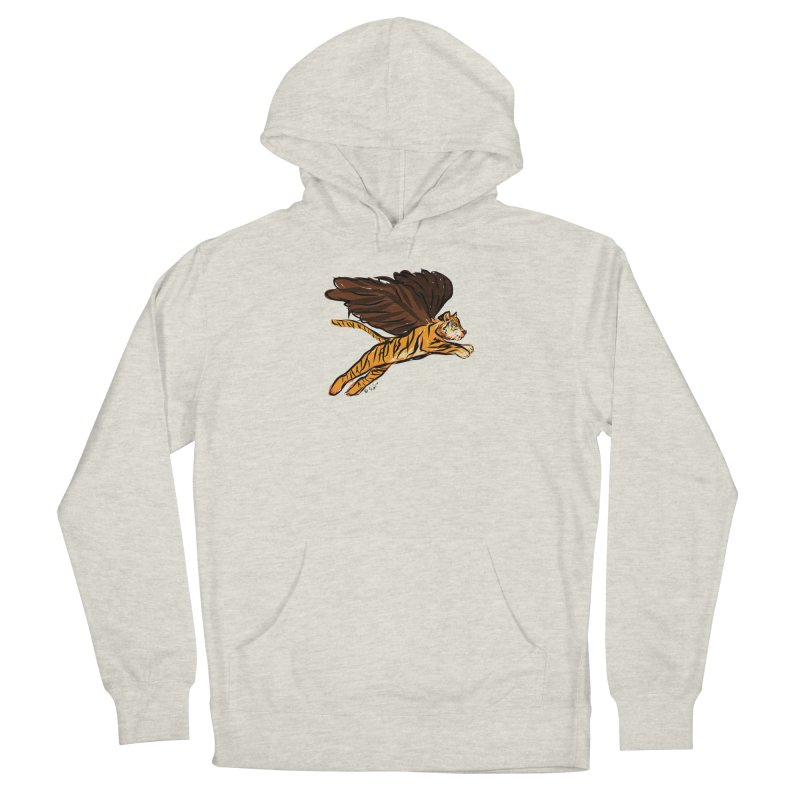 Roar & Soar! Women's Pullover Hoody by ACEMETRICAL ( / ) Disc Golf