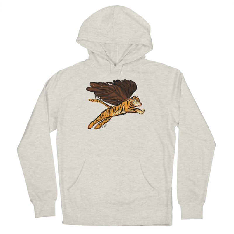 Roar & Soar! Men's French Terry Pullover Hoody by ACEMETRICAL ( / ) Disc Golf