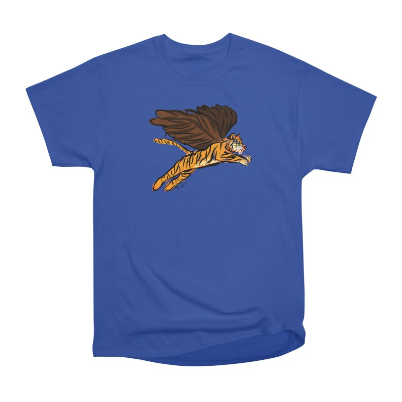 Roar & Soar! Men's Heavyweight T-Shirt by ACEMETRICAL ( / ) Disc Golf