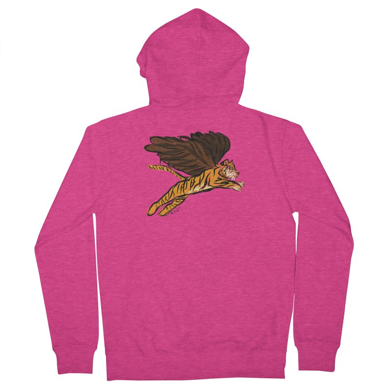Roar & Soar! Women's Zip-Up Hoody by ACEMETRICAL ( / ) Disc Golf