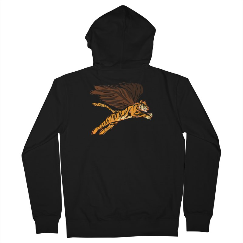 Roar & Soar! Women's French Terry Zip-Up Hoody by ACEMETRICAL ( / ) Disc Golf