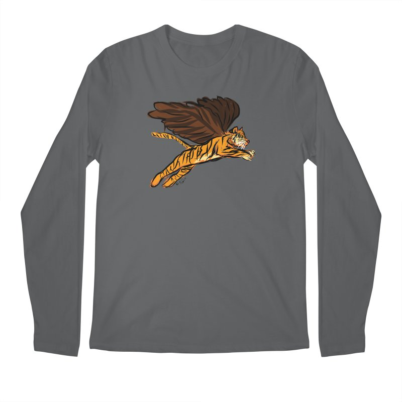 Roar & Soar! Men's Regular Longsleeve T-Shirt by ACEMETRICAL ( / ) Disc Golf