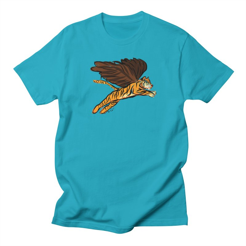 Roar & Soar! Women's Regular Unisex T-Shirt by ACEMETRICAL ( / ) Disc Golf