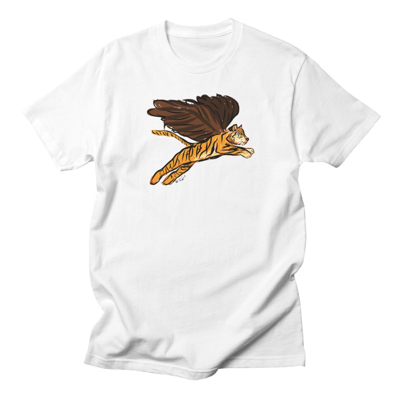 Roar & Soar! Men's T-Shirt by ACEMETRICAL ( / ) Disc Golf