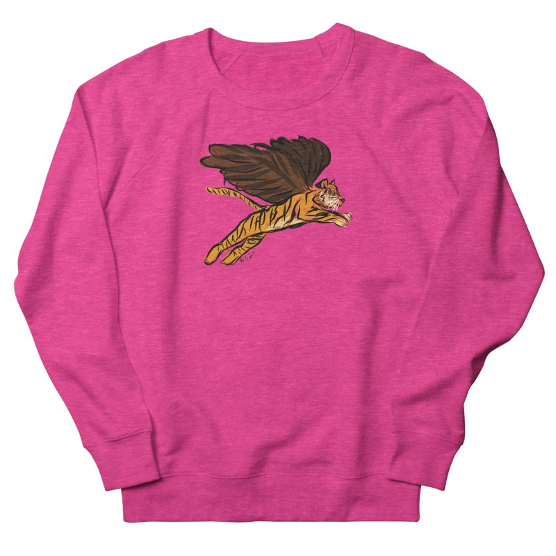 Roar & Soar! Women's Sweatshirt by ACEMETRICAL ( / ) Disc Golf