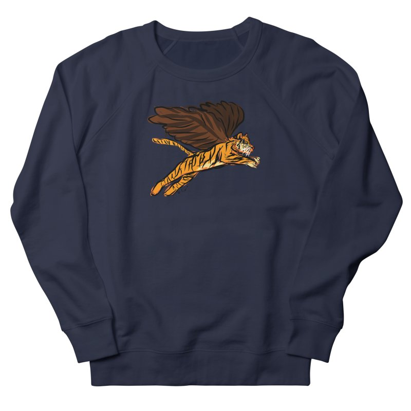 Roar & Soar! Women's French Terry Sweatshirt by ACEMETRICAL ( / ) Disc Golf