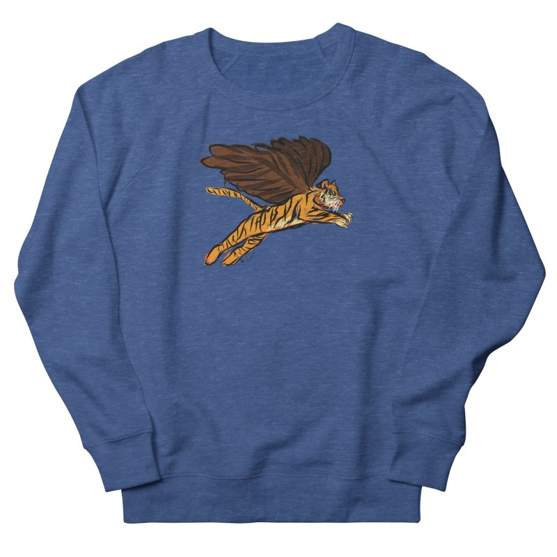 Roar & Soar! Men's French Terry Sweatshirt by ACEMETRICAL ( / ) Disc Golf
