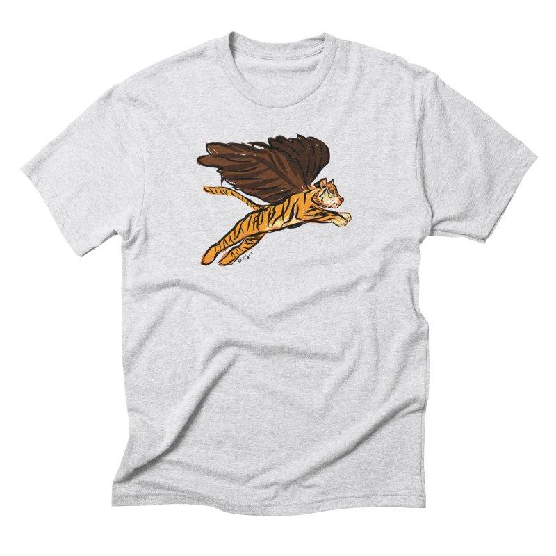 Roar & Soar! Men's Triblend T-Shirt by ACEMETRICAL ( / ) Disc Golf