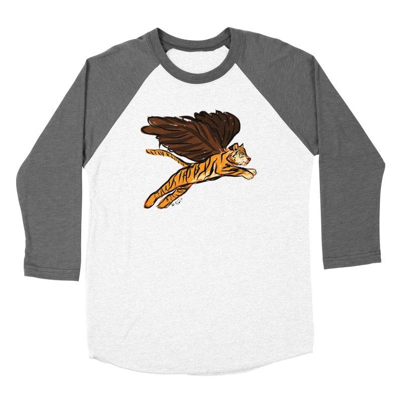 Roar & Soar! Women's Baseball Triblend Longsleeve T-Shirt by ACEMETRICAL ( / ) Disc Golf
