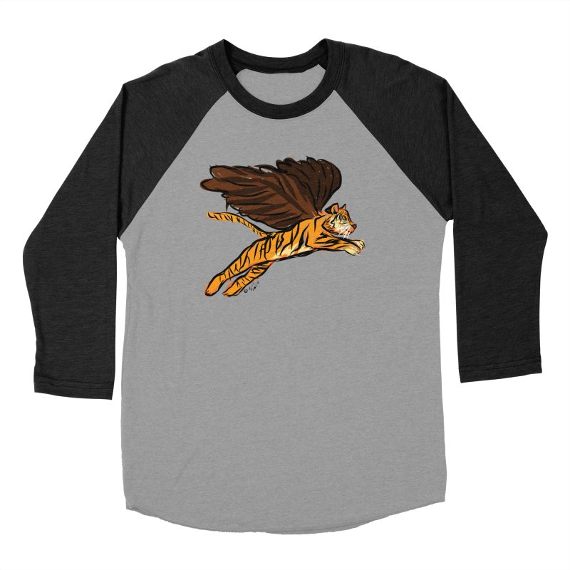 Roar & Soar! Women's Baseball Triblend Longsleeve T-Shirt by ACEMETRICAL ( / ) Disc Golf