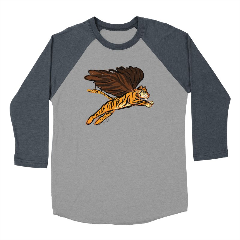 Roar & Soar! Men's Baseball Triblend Longsleeve T-Shirt by ACEMETRICAL ( / ) Disc Golf
