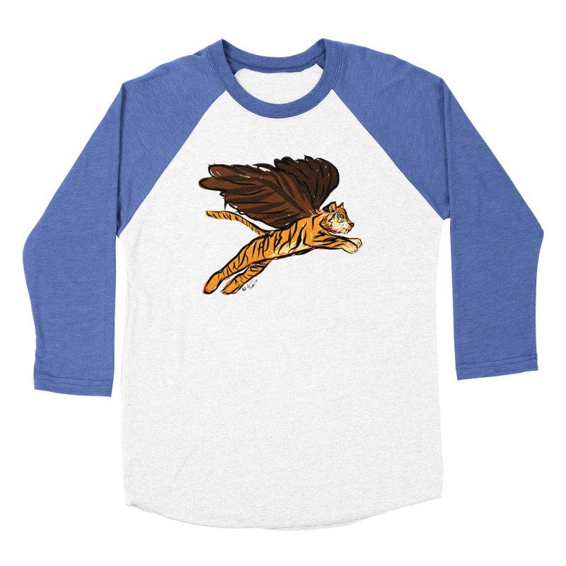 Roar & Soar! Men's Baseball Triblend Longsleeve T-Shirt by ACEMETRICAL ( / ) Disc Golf