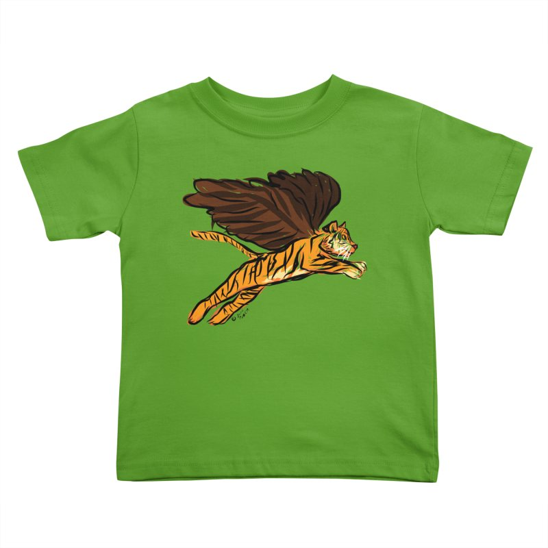 Roar & Soar! Kids Toddler T-Shirt by ACEMETRICAL ( / ) Disc Golf