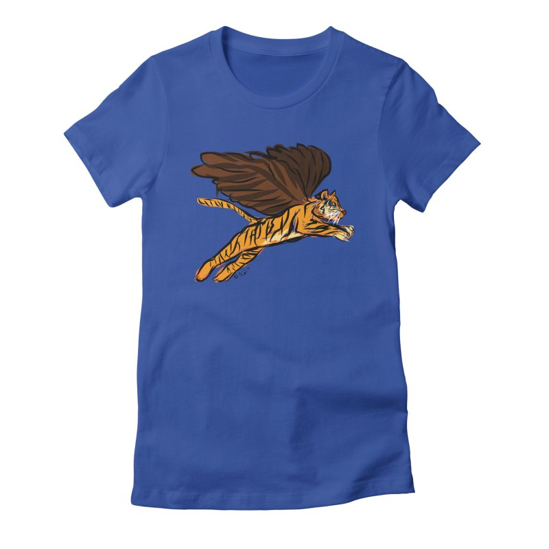 Roar & Soar! Women's T-Shirt by ACEMETRICAL ( / ) Disc Golf
