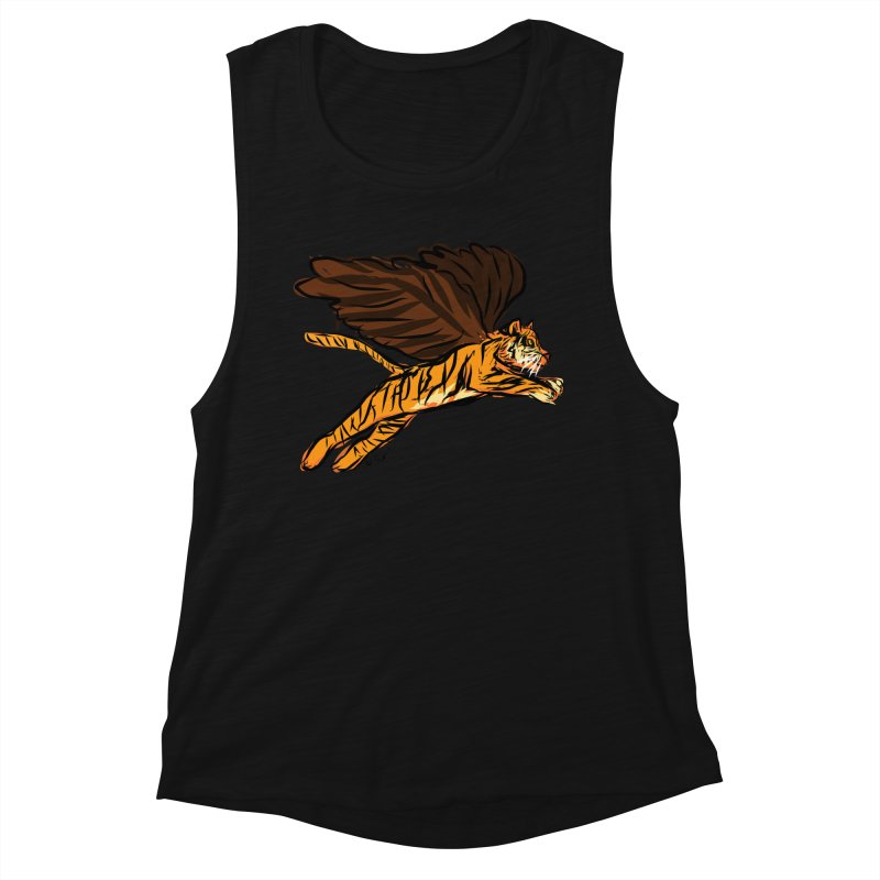 Roar & Soar! Women's Tank by ACEMETRICAL ( / ) Disc Golf