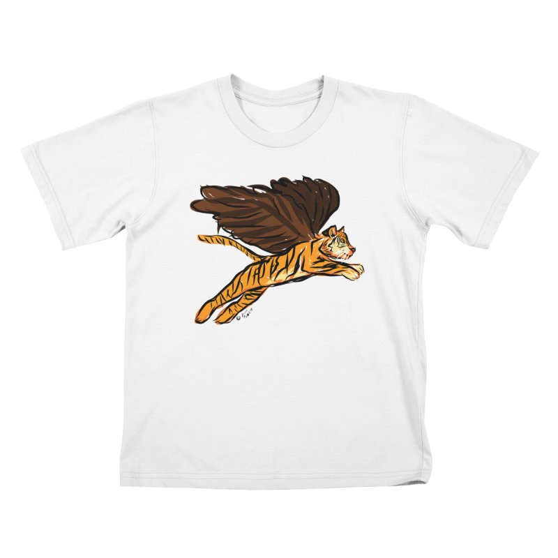 Roar & Soar! Kids T-Shirt by ACEMETRICAL ( / ) Disc Golf