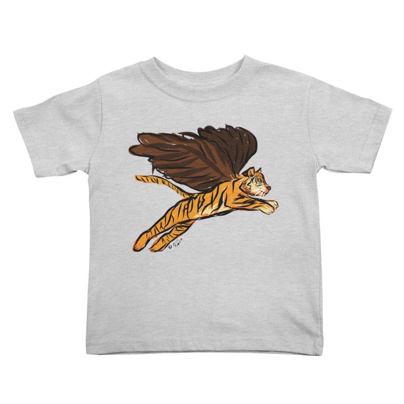 Roar & Soar! Kids Toddler T-Shirt by ACEMETRICAL ( / ) Disc Golf