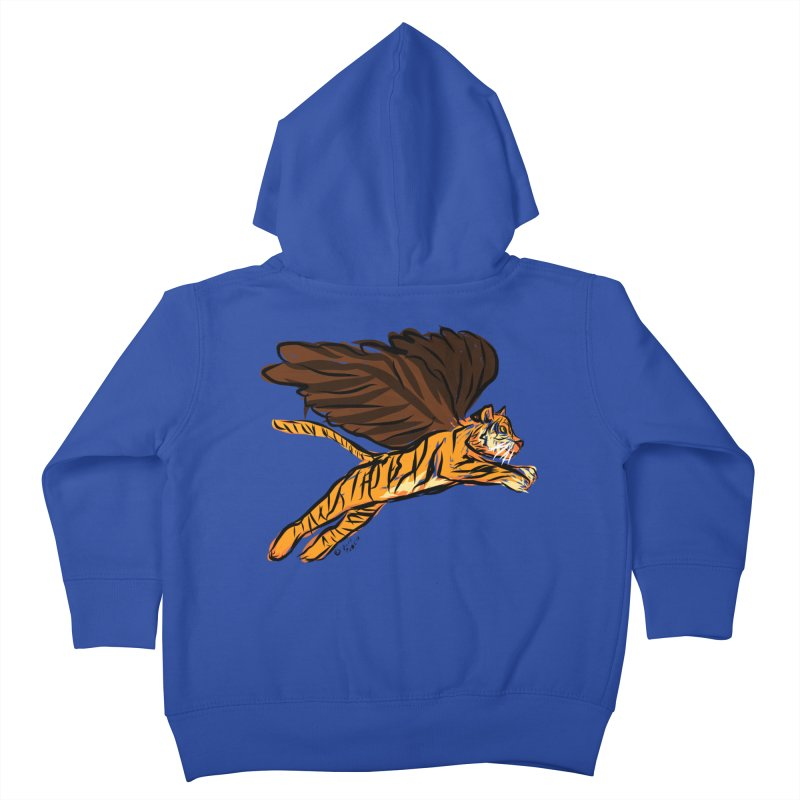 Roar & Soar! Kids Toddler Zip-Up Hoody by ACEMETRICAL ( / ) Disc Golf