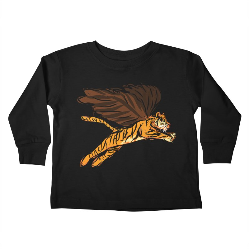 Roar & Soar! Kids Toddler Longsleeve T-Shirt by ACEMETRICAL ( / ) Disc Golf