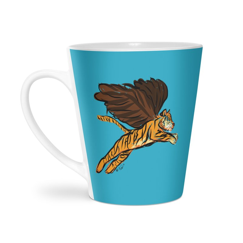 Roar & Soar! Accessories Latte Mug by ACEMETRICAL ( / ) Disc Golf