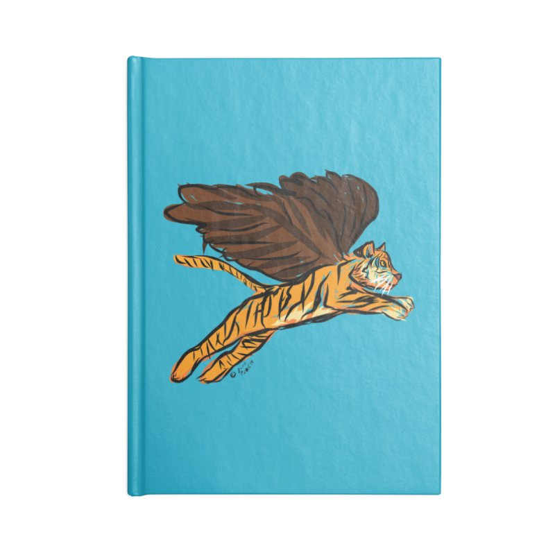 Roar & Soar! Accessories Blank Journal Notebook by ACEMETRICAL ( / ) Disc Golf
