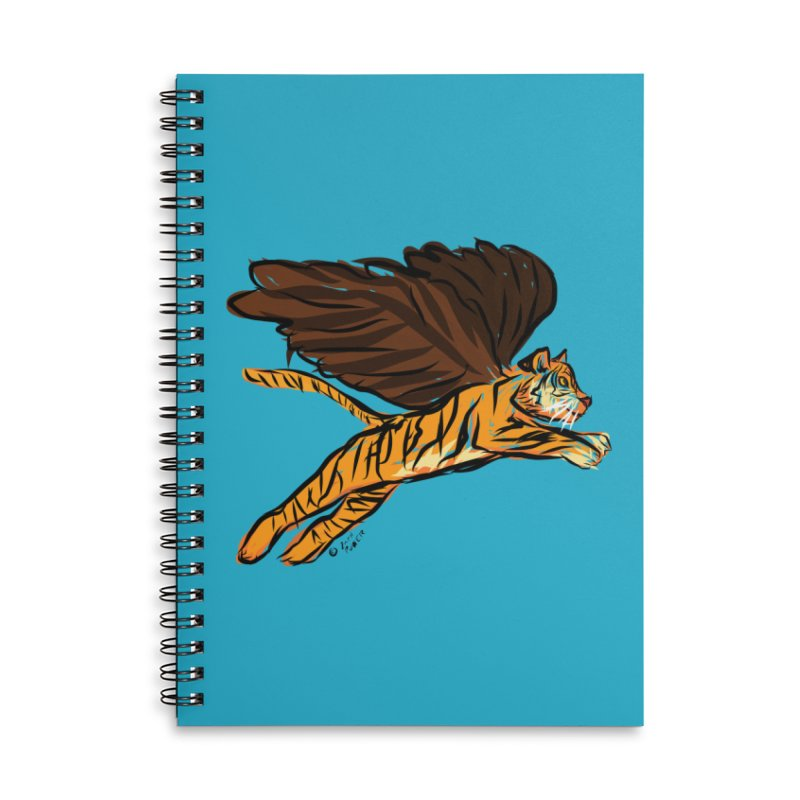 Roar & Soar! Accessories Lined Spiral Notebook by ACEMETRICAL ( / ) Disc Golf