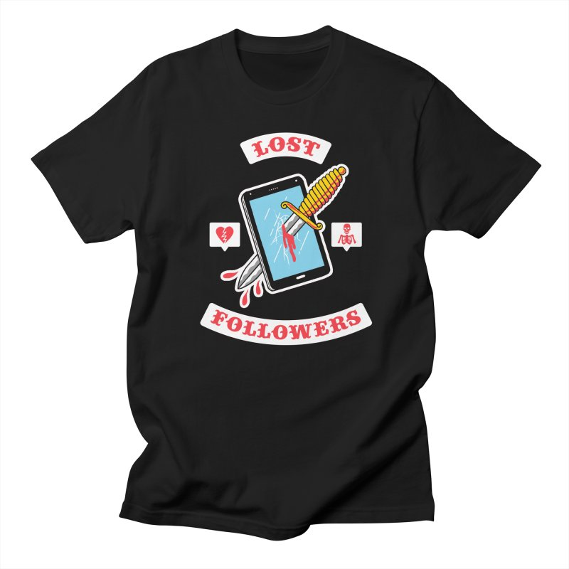 Lost Followers Men's T-shirt by Zack Forer