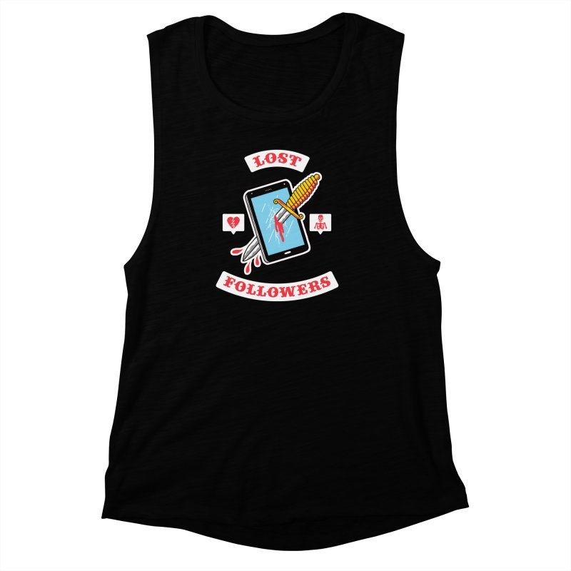 Lost Followers Women's Muscle Tank by Zack Forer