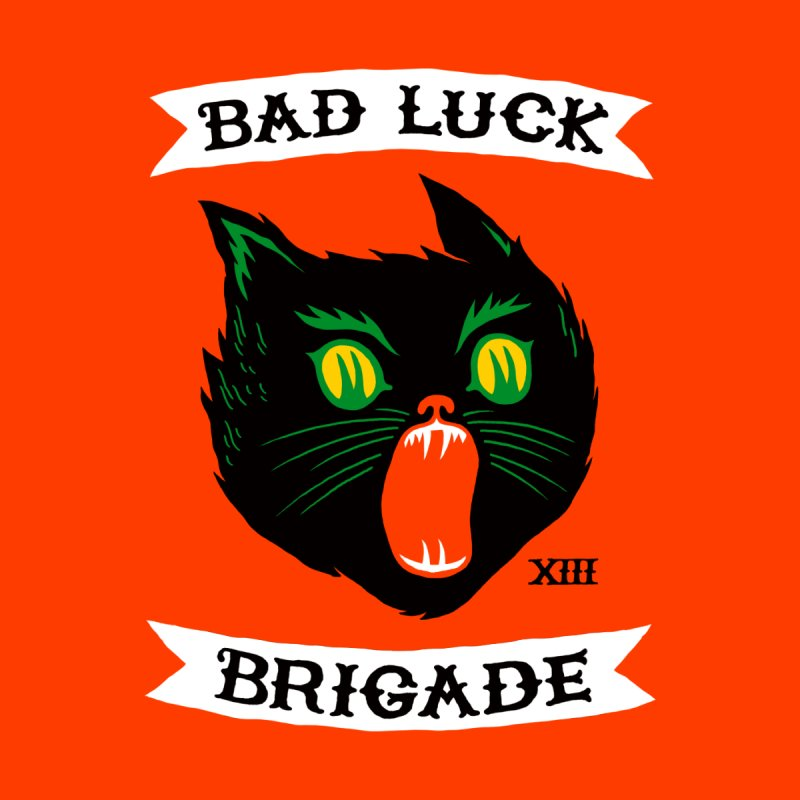 Bad Luck Brigade Men's Triblend T-shirt by Zack Forer