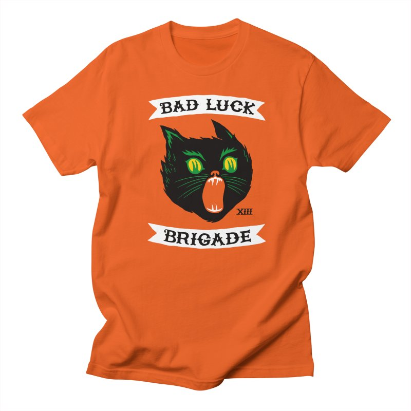 Bad Luck Brigade Men's T-shirt by Zack Forer