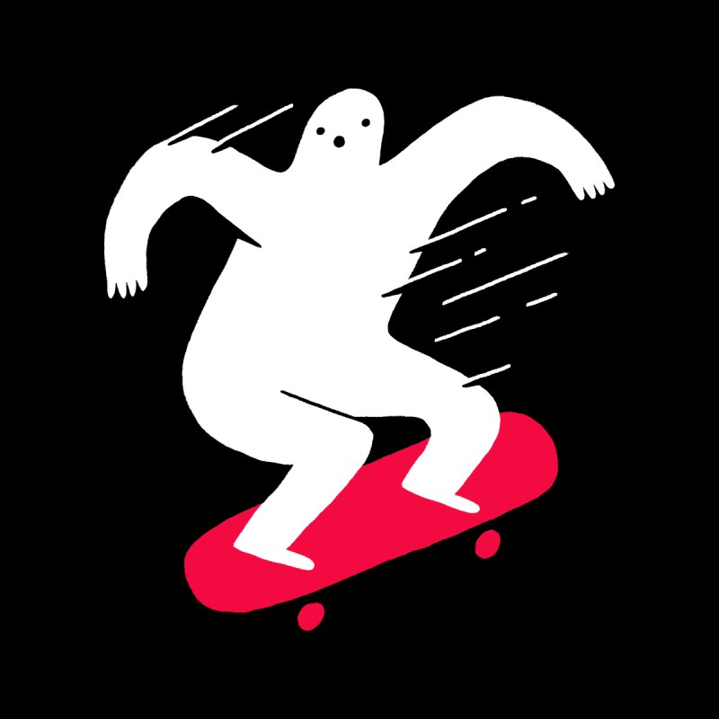 Ghost Ridin' Women's Scoop Neck by Zack Forer