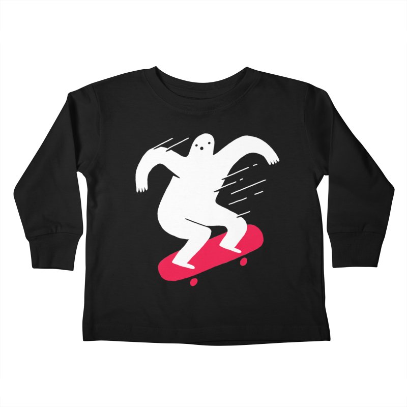 Ghost Ridin' Kids Toddler Longsleeve T-Shirt by Zack Forer