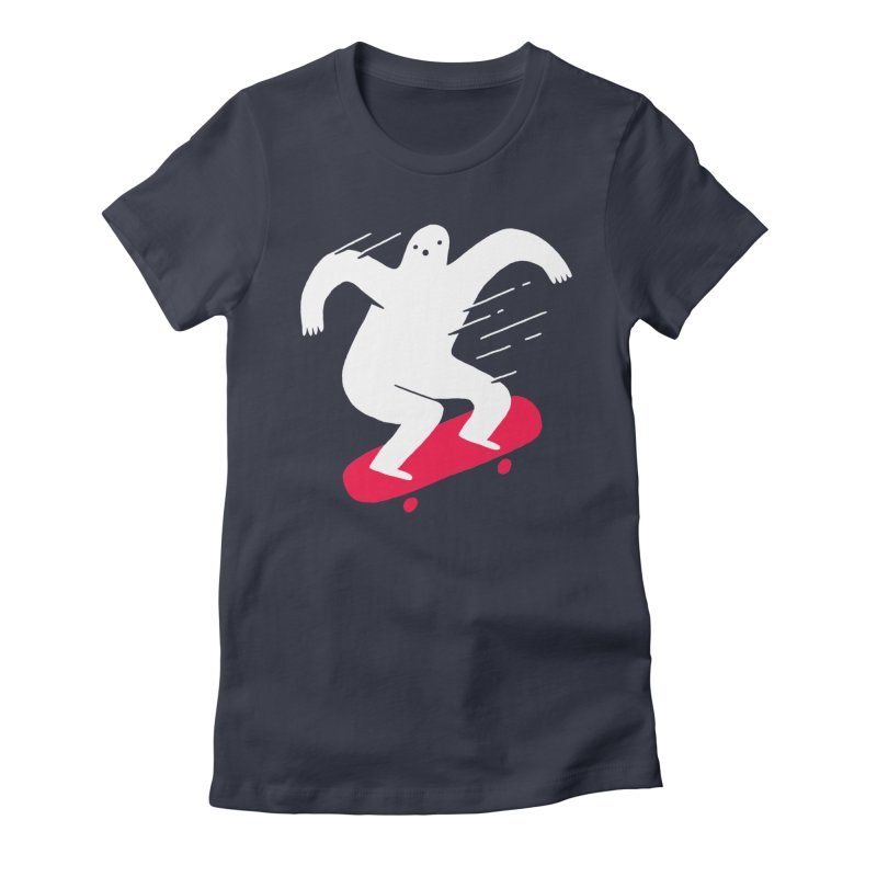 Ghost Ridin' Women's Fitted T-Shirt by Zack Forer