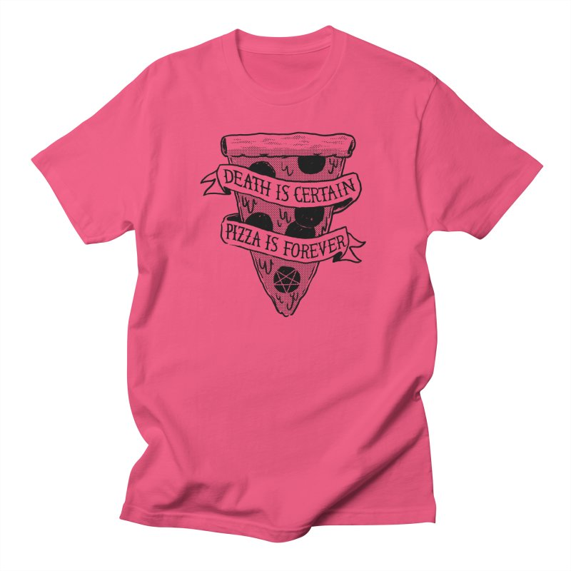 Pizza Is Forever Men's T-shirt by Zack Forer