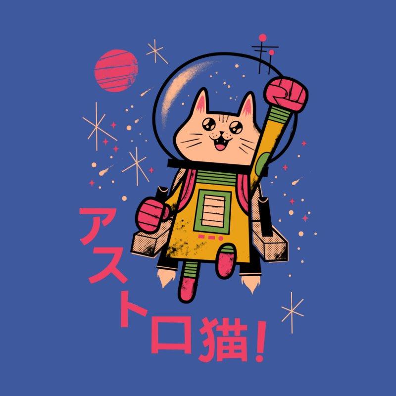 Go, Astrocat, Go! Women's Triblend T-shirt by Zack Forer