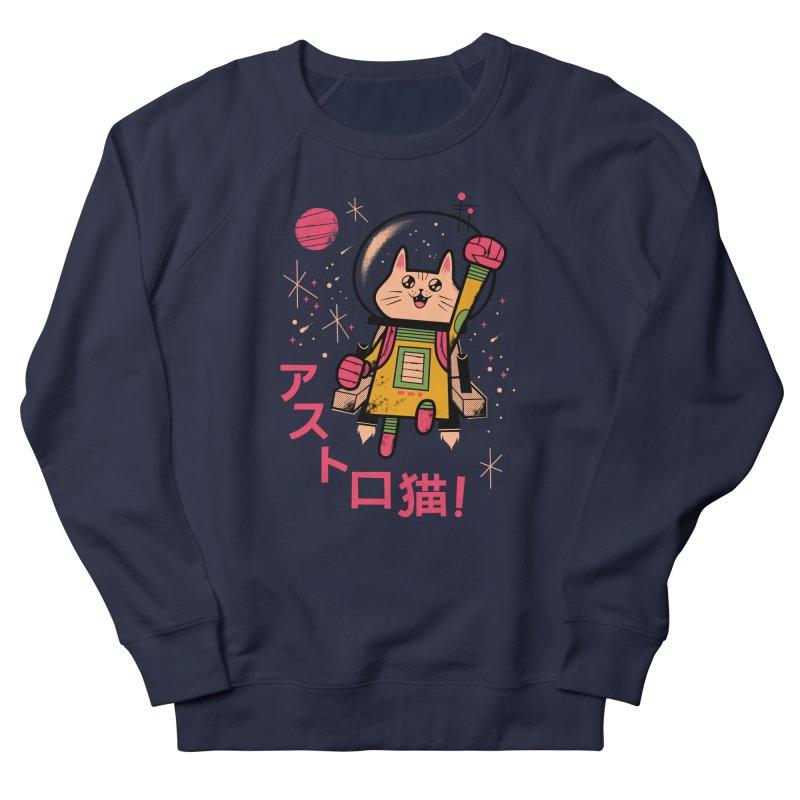 Go, Astrocat, Go! Women's Sweatshirt by Zack Forer