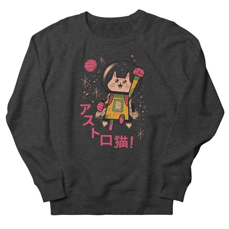 Go, Astrocat, Go! Men's Sweatshirt by Zack Forer
