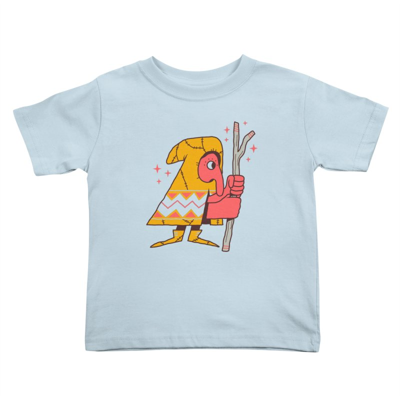 Magic Gnome Kids Toddler T-Shirt by Zack Forer