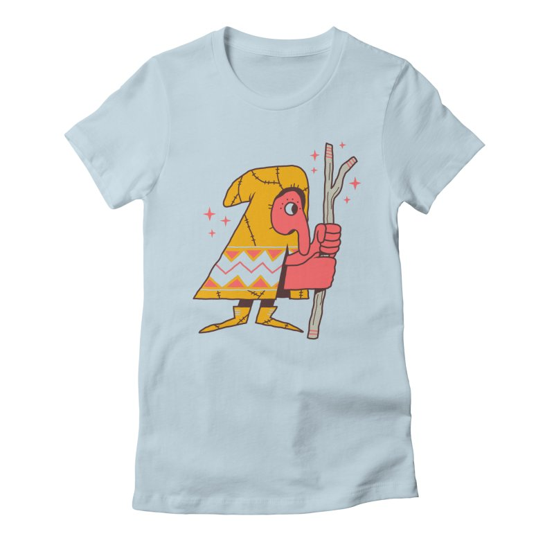 Magic Gnome Women's Fitted T-Shirt by Zack Forer