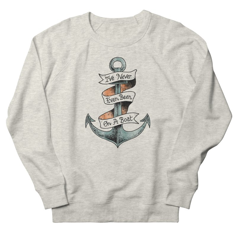 Honest Anchor Tattoo Women's French Terry Sweatshirt by Zack Forer