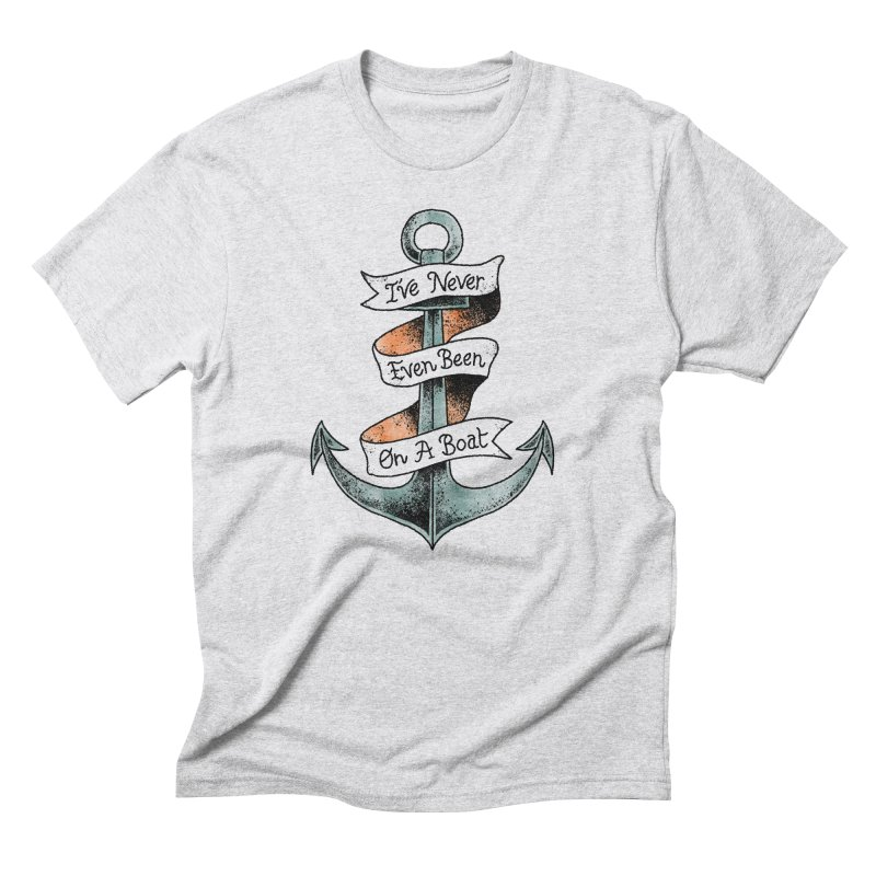 Honest Anchor Tattoo Men's Triblend T-shirt by Zack Forer