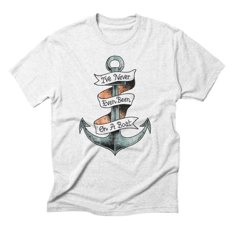 Honest Anchor Tattoo Men's Triblend T-shirt by Zack Forer