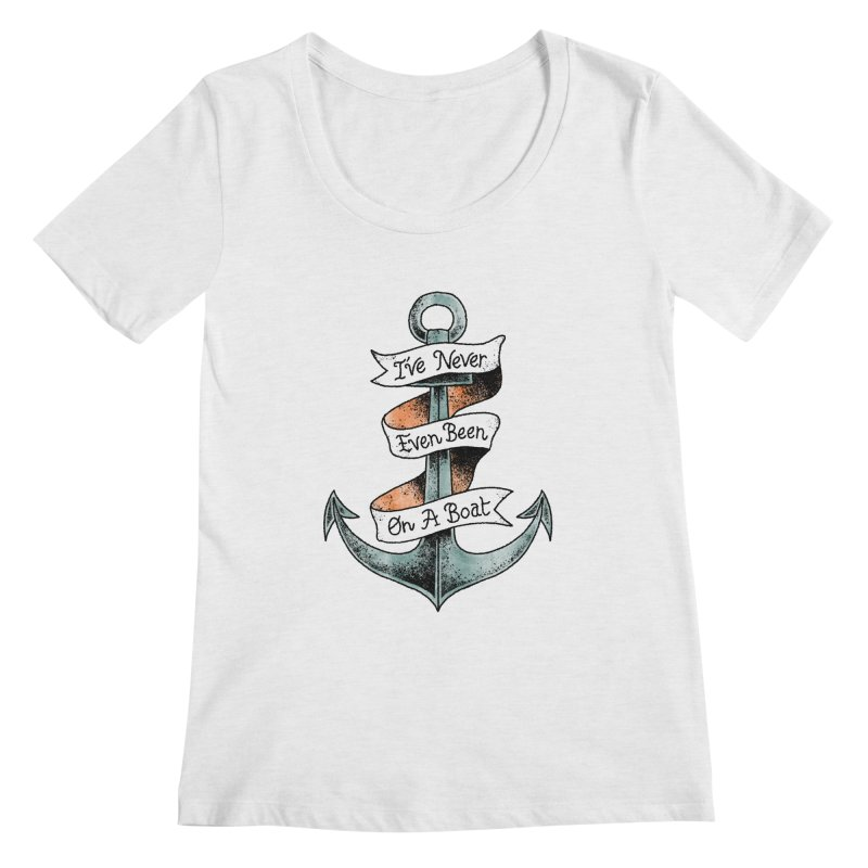 Honest Anchor Tattoo Women's Scoopneck by Zack Forer