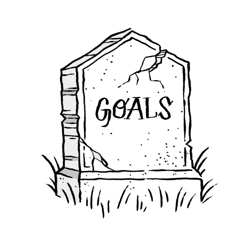 Epitaph Goals by Zack Forer