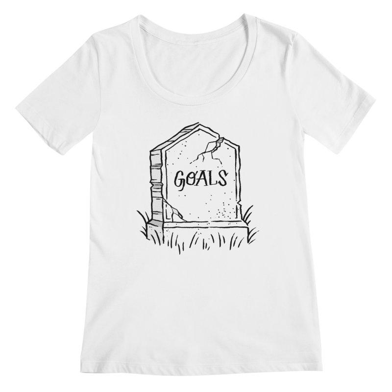 Epitaph Goals Women's Regular Scoop Neck by Zack Forer