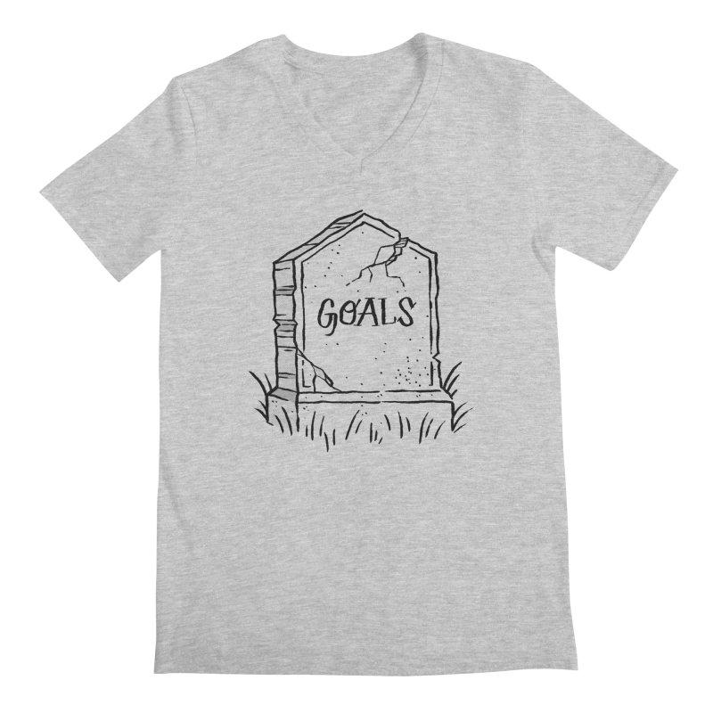 Epitaph Goals Men's V-Neck by Zack Forer