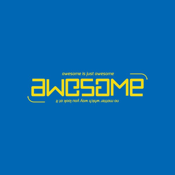 image for Awesome is just awesome