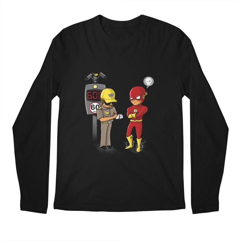 Speed Flash Men's Longsleeve T-Shirt by zakeu's Artist Shop