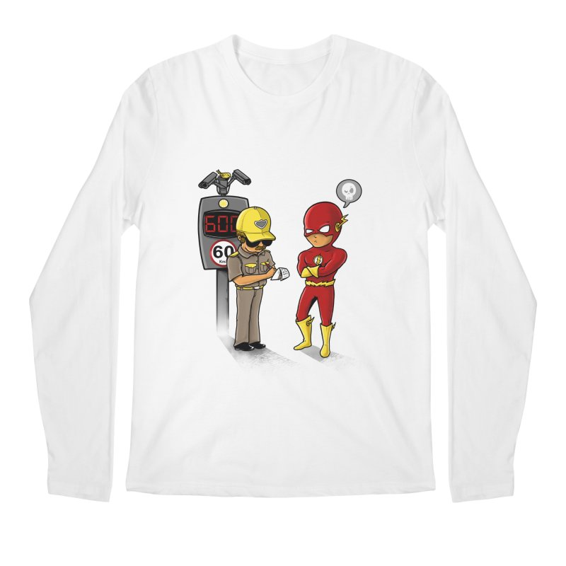Speed Flash Men's Longsleeve T-Shirt by zakeu's Artist Shop